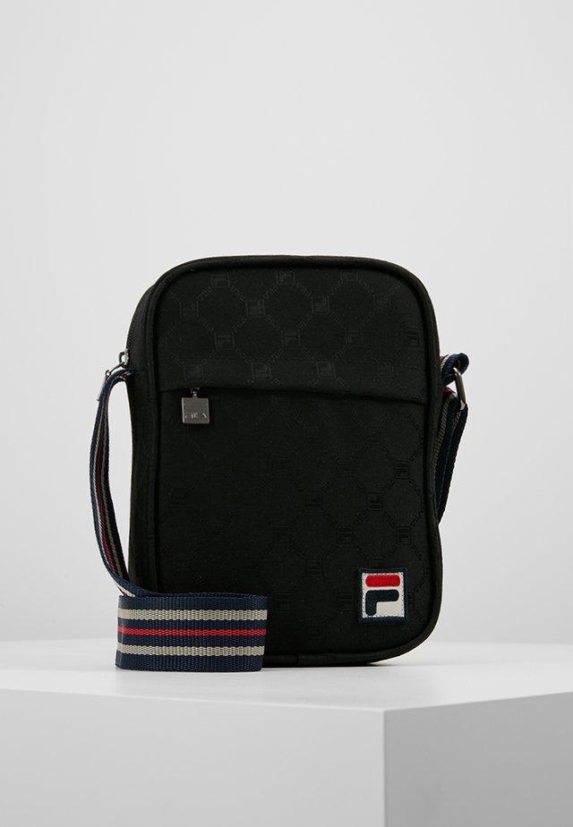 REPORTER BAG - Across body bag - black