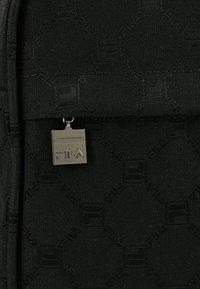 Fila - REPORTER BAG - Bandolera - black - 7