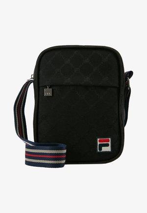 REPORTER BAG - Taška spříčným popruhem - black