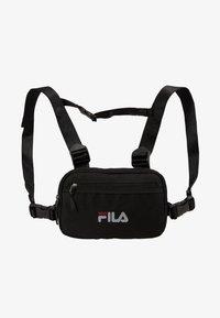 Fila - CHEST BAG - Mochila - black - 4