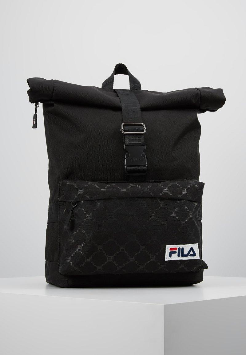 Fila - OREBRO ROLL TOP BACKPACK - Plecak - black