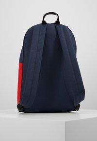 Fila - NEW BACKPACK SCOOL TWO - Batoh - black iris/true red/bright white - 3