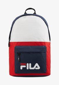 Fila - NEW BACKPACK SCOOL TWO - Batoh - black iris/true red/bright white - 1