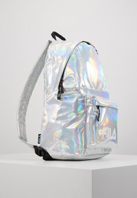 Fila - NEW BACKPACK S'COOL HOLO - Tagesrucksack - silver - 4