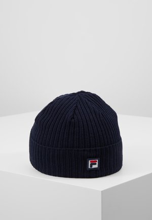 FISHERMAN BEANIE BOX - Čepice - black iris