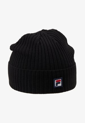 FISHERMAN BEANIE BOX - Čepice - black