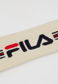 Fila - INTARSIA HEADBAND - Mössa - whitecap/gray/black iris/true red - 5