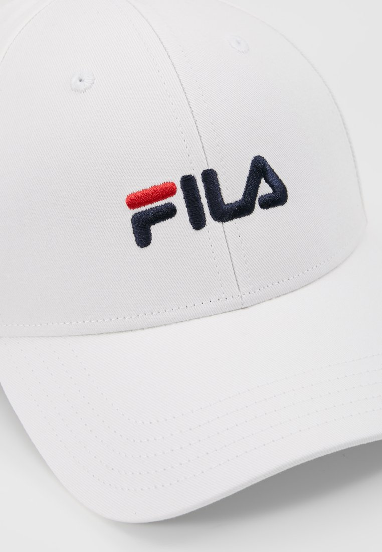 Fila Panel Strap Back Linear Logo - Caps Bright White