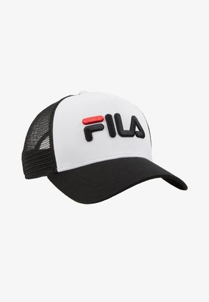 TRUCKER SNAP BACK - Cap - black/bright white