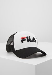 Fila - TRUCKER SNAP BACK - Caps - black/bright white - 0