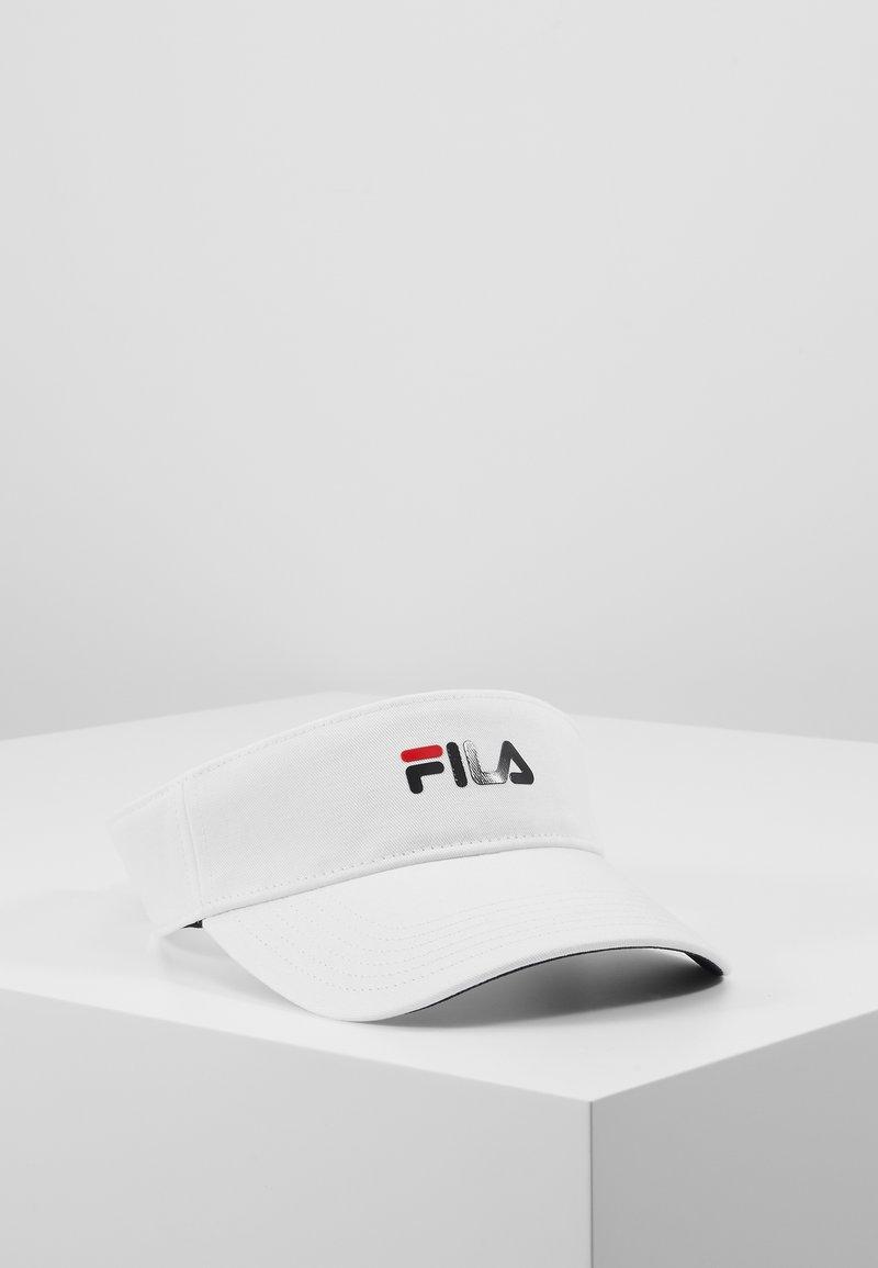 Fila - VISOR - Kšiltovka - bright white