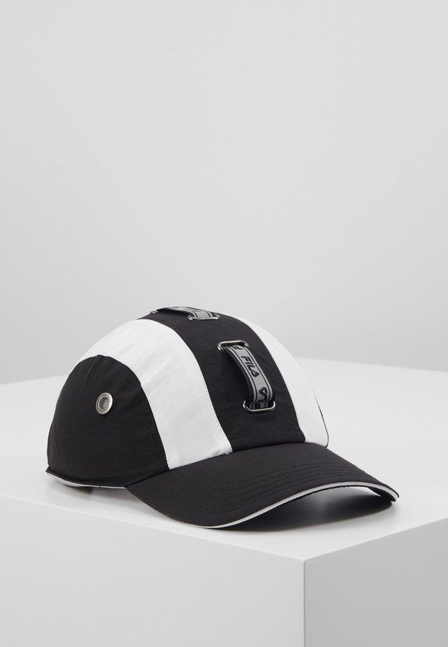 TECH  - Keps - black/bright white