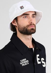 Fila - BUCKET HAT - Klobouk - bright white - 1