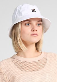 Fila - BUCKET HAT - Klobouk - bright white - 5