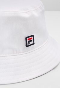 Fila - BUCKET HAT - Klobouk - bright white - 4