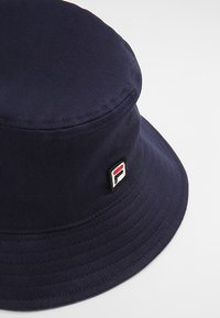 Fila - BUCKET HAT - Klobouk - black iris - 4