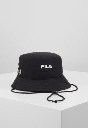 FISHING BUCKET HAT - Klobouk - black