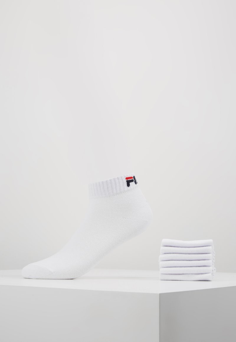 Fila - 6 PACK - Socks - white