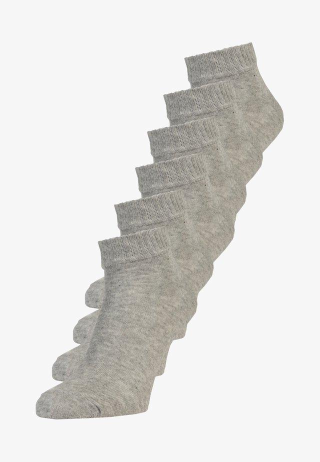 6 PACK - Sukat - grey