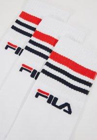 Fila - LIFESTYLE PLAIN - Skarpety - white - 2