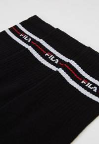 Fila - LIFESTYLE PLAIN SOCKS 6 PACK - Ponožky - black - 2