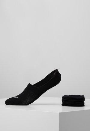 UNISEX GOHST SOCKS 6 PACK - Füßlinge - black