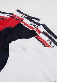 Fila - QUARTER SOCKS WITH SHINY DESIGN 3PACK - Sokken - red/white/blue - 2