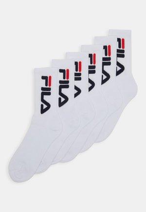 6 PACK - Sokken - white