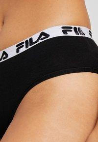 Fila - REGULAR WAIST WOMAN PANTIES 2 PACK - Slip - black - 4