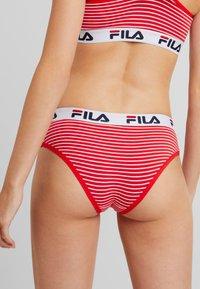 Fila - REGULAR WAIST WOMAN 2 PACK - Slip - red - 3
