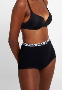Fila - HIGH WAIST WOMAN CULOTTE - Figi - black - 0