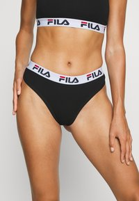 Fila - PERIZOMA DONNA 2 PACK - String - black - 1