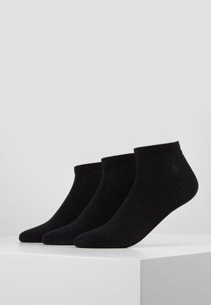 INVISIBLE 3 PACK - Sokken - black