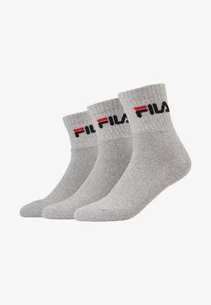 TENNIS 3 PACK - Ponožky - grey