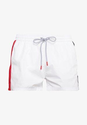 SAFI - Shorts da mare - bright white/true red/black iris