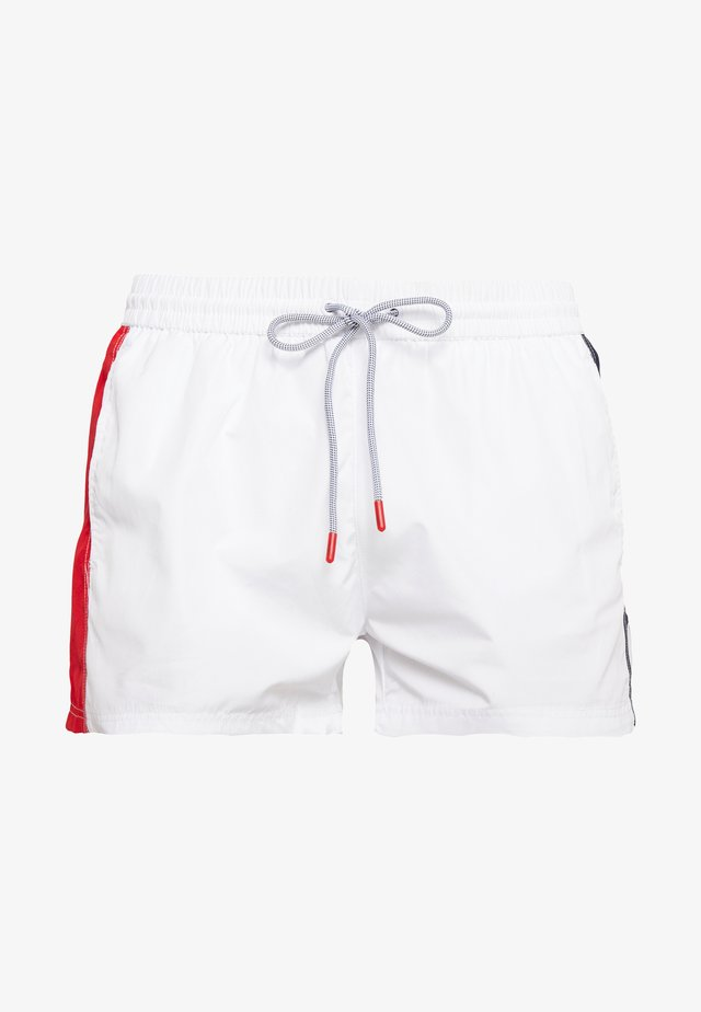SAFI - Swimming shorts - bright white/true red/black iris