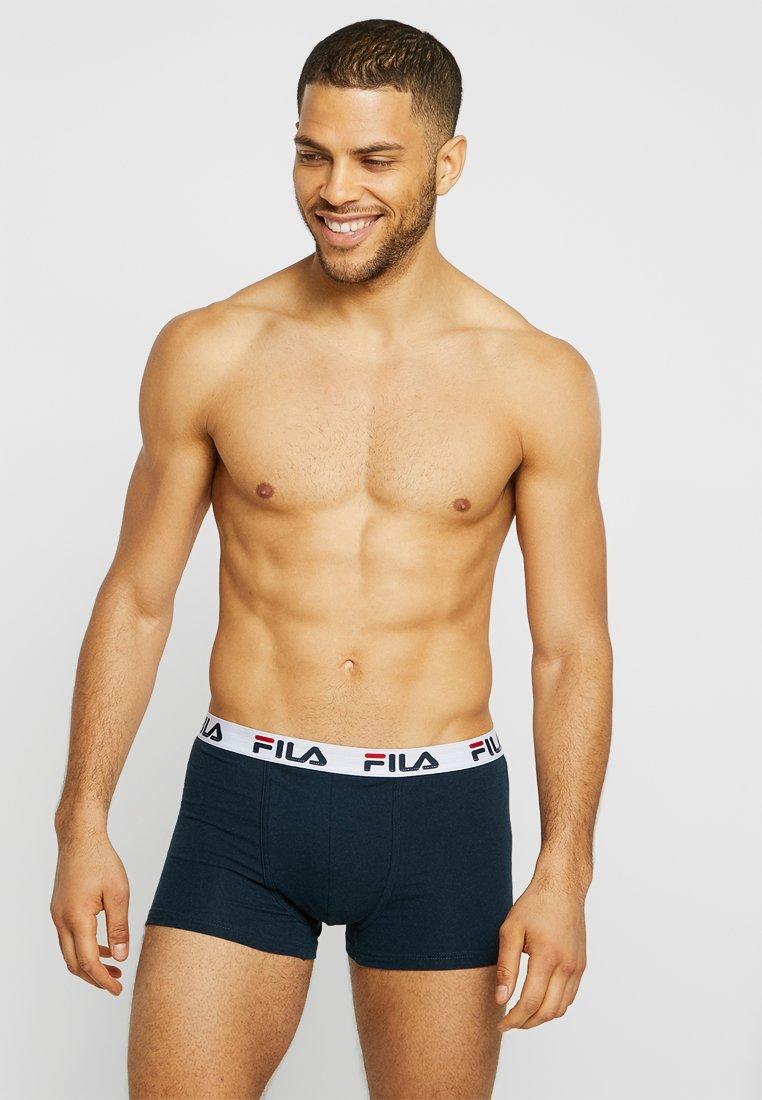 Fila - TRUNK 5 PACK - Panty - navy/black/red