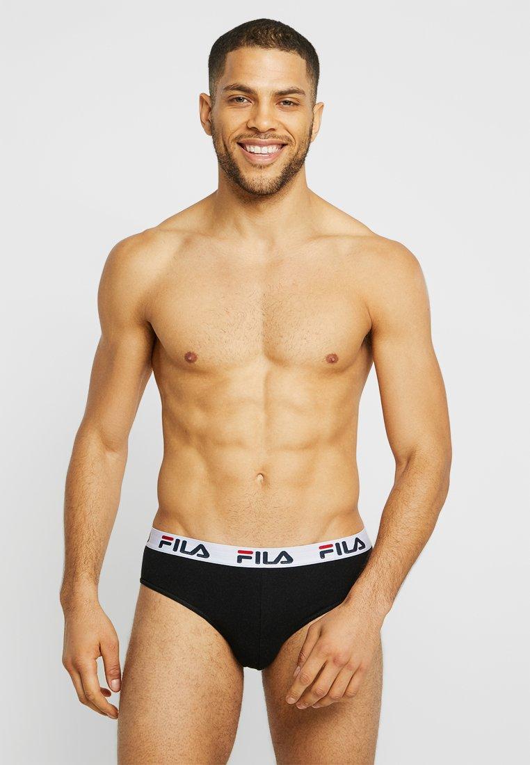 Fila - SLIP 3 PACK - Slip - black