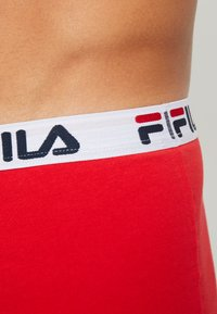 Fila - 3 PACK TRUNK - Pants - red/black - 4