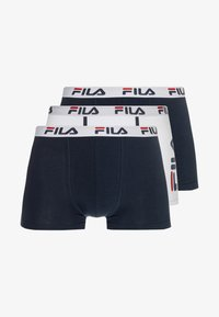 Fila - 3 PACK TRUNK - Culotte - white/navy - 3