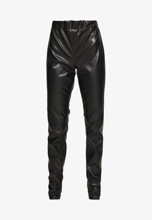 VEGAN PANTS - Kalhoty - black