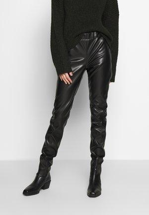 VEGAN PANTS - Bukse - black