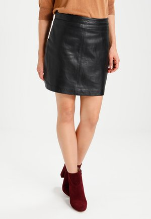 LISA - Skinnskjørt - black
