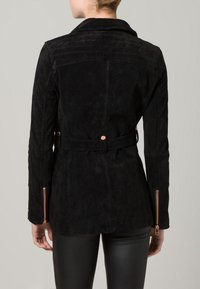 Freaky Nation - MODERN TIMES - Leather jacket - black - 3