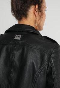 Freaky Nation - PASSENGER - Leather jacket - black - 6