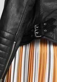 Freaky Nation - PASSENGER - Leather jacket - black - 4