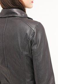 Freaky Nation - BIKER PRINCESS - Leather jacket - shadow - 5