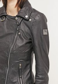 Freaky Nation - BIKER PRINCESS - Leather jacket - shadow - 4