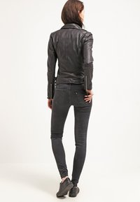 Freaky Nation - BIKER PRINCESS - Leather jacket - shadow - 2