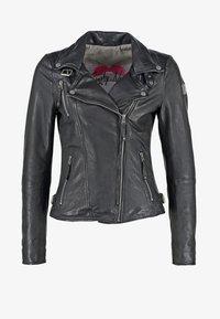Freaky Nation - BIKER PRINCESS - Leather jacket - shadow - 7